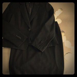 Black Ann Taylor Skirt Suit